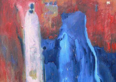 50 x 70 cm, 2005, Öl auf Leinwand, Privatbesitz
