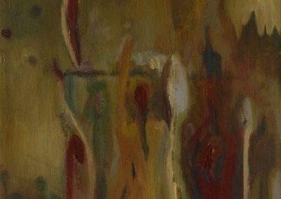 30 x 50 cm, 2007, Öl auf Leinwand, Privatbesitz