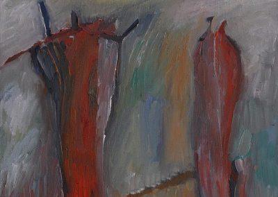40 x 60 cm, 2005, Öl auf Leinwand, Privatbesitz