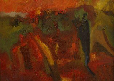50 x 70 cm, 2006, Öl auf Leinwand