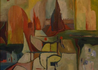 100 x 800 cm, 2006, Öl auf Leinwand