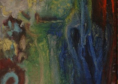 40 x 60 cm, 2006, Öl auf Leinwand, Privatbesitz