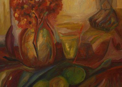 80 x 80 cm, 2006, Öl auf Leinwand, Privatbesitz