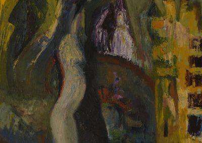 60 x 80 cm, 2002, Öl auf Leinwand