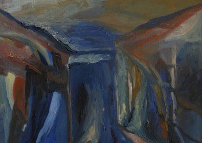 60 x 80 cm, 2005, Öl auf Leinwand