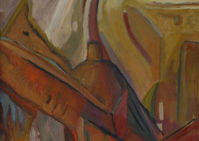 50 x 100 cm, 2005, Öl auf Leinwand