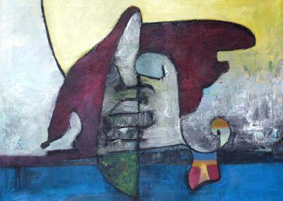 80 x 60 cm, 2012, Öl auf Leinwand