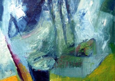 40 x 40 cm, 2014, Öl auf Leinwand