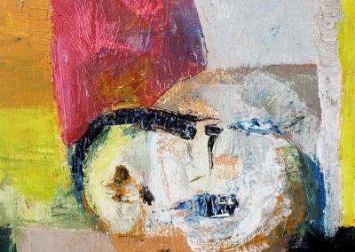 30 x 40 cm, 2012, Öl auf Leinwand, Privatbesitz