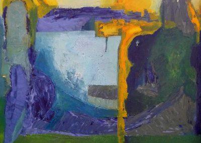 100 x 100 cm, 2011, Öl auf Leinwand