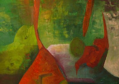 80 x 110 cm, 2013, Öl auf Leinwand