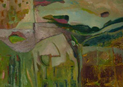 80 x 60 cm, 2011, Öl auf Leinwand, Privatbesitz