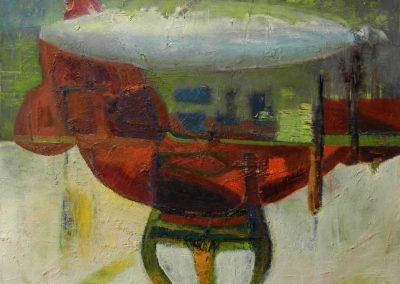 60 x 60 cm, 2016, Öl auf Leinwand