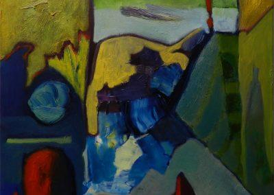45 x 45 cm, 2015, Öl auf Leinwand
