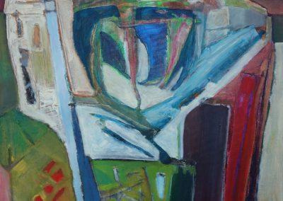 60 x 90 cm, 2014, Öl auf Leinwand, Privatbesitz