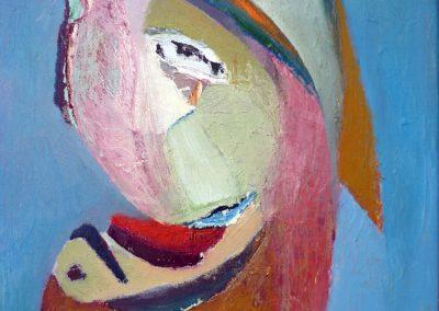 30 x 50 cm, 2015, Öl auf Leinwand, Privatbesitz