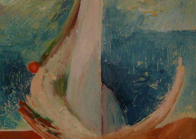 80 x 60 cm, 2012, Öl auf Leinwand, Privatbesitz