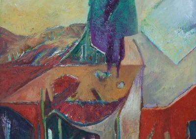 80 x 110 cm, 2012, Öl auf Leinwand