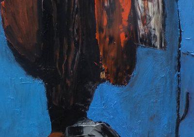 30 x 70 cm, 2016, Öl auf Leinwand