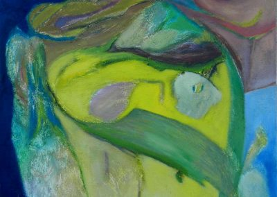 60 x 60 cm, 2010, Öl auf Leinwand