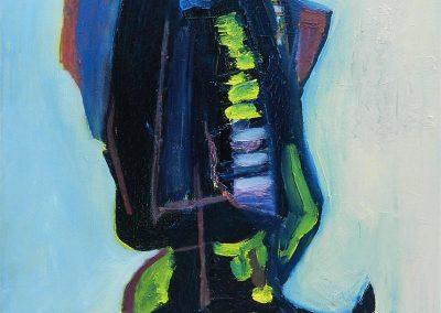 40 x 50 cm, 2016, Öl auf Leinwand