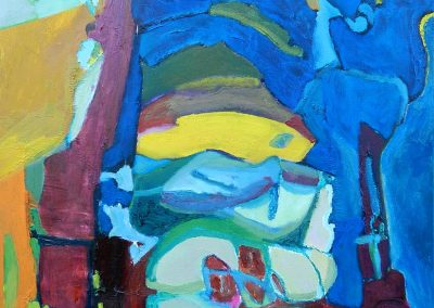50 x 60 cm, 2017, Öl auf Leinwand