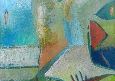 50 x 70 cm, 2011, Öl auf Leinwand