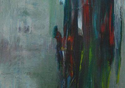 40 x 120 cm, 2011, Öl auf Leinwand