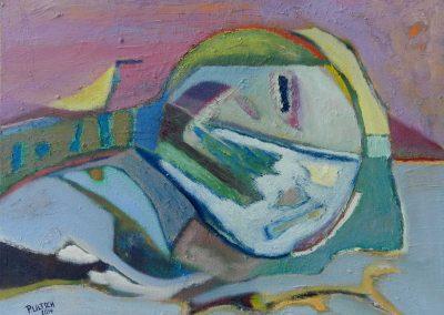 50 x 40 cm, 2014, Öl auf Leinwand