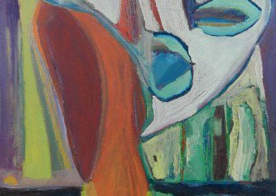 40 x 50 cm, 2014, Öl auf Leinwand