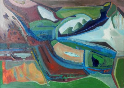 70 x 50 cm, 2017, Öl auf Leinwand