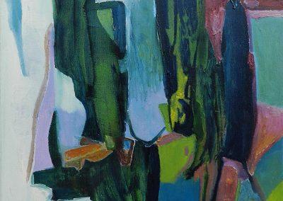 50 x 70 cm, 2017, Öl auf Leinwand