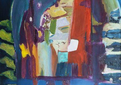 50 x 70 cm, 2016, Öl auf Leinwand
