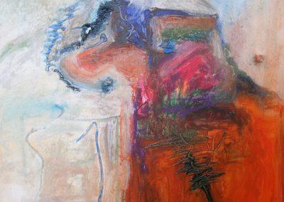80 x 110 cm, 2007, Öl auf Leinwand, Privatbesitz