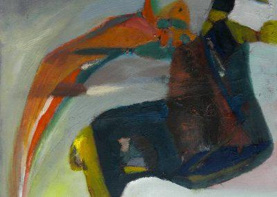 40 x 35 cm, 2019, Öl auf Leinwand