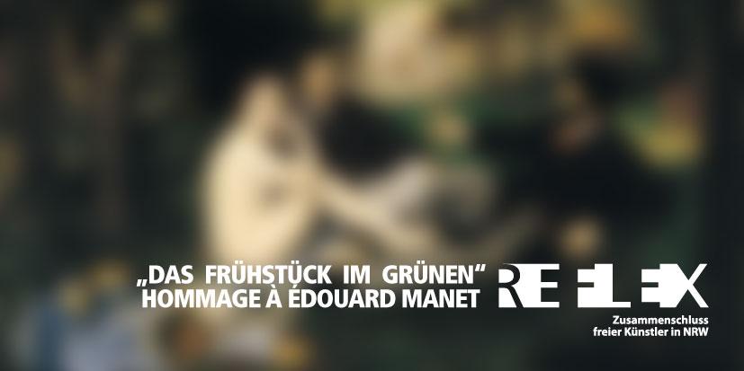 """Ausstellung """"Frühstück im Grünen"""""""